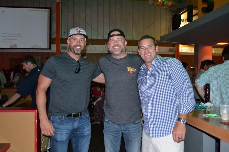 Matt Stewart, Levi Miles, and Bentley Price