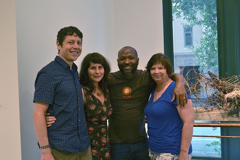 Burton Callicott, Stacy McKinley, Gary Jackson, and Lisa Hase-Jackson