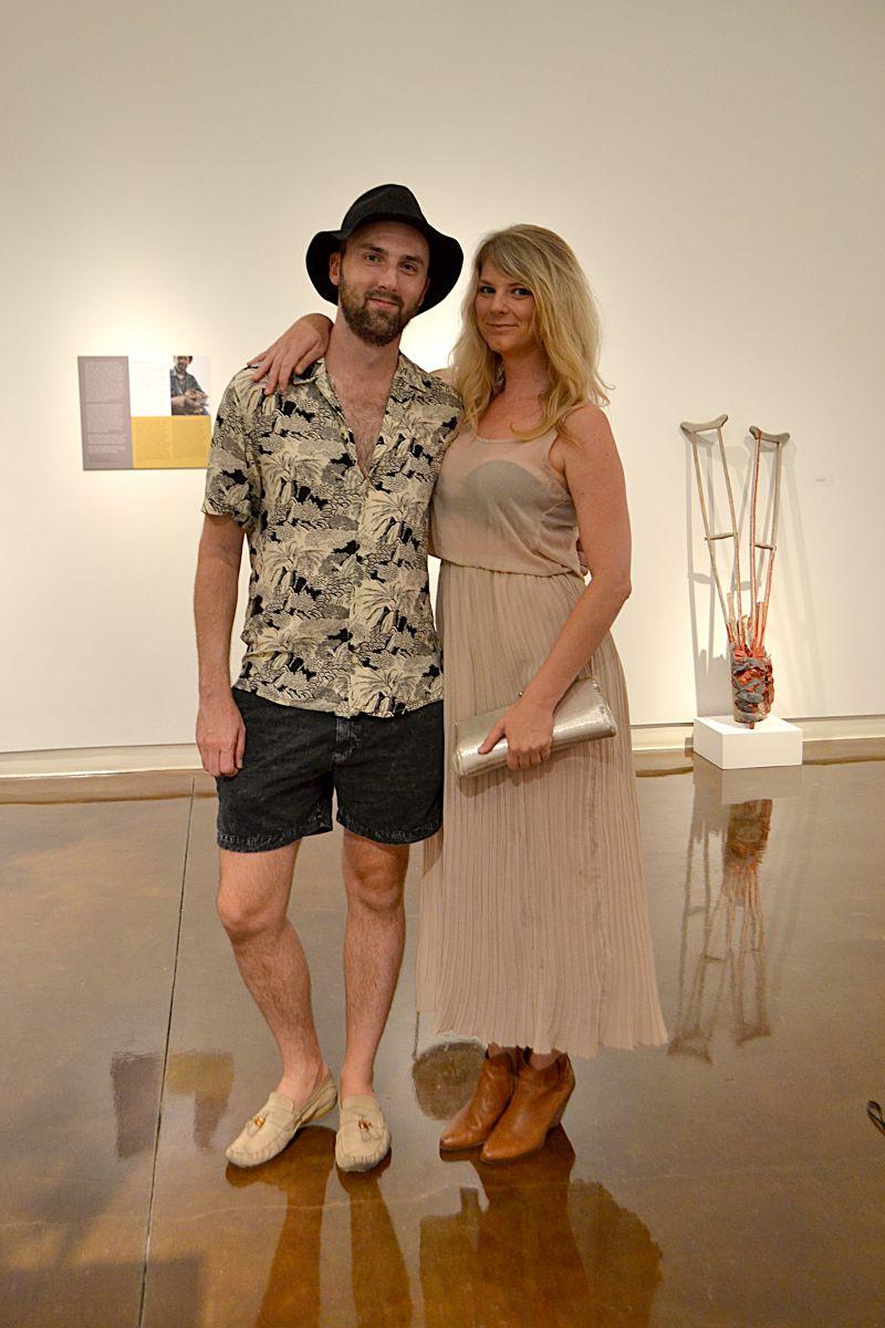 Justin Hardis and Erin Perkins