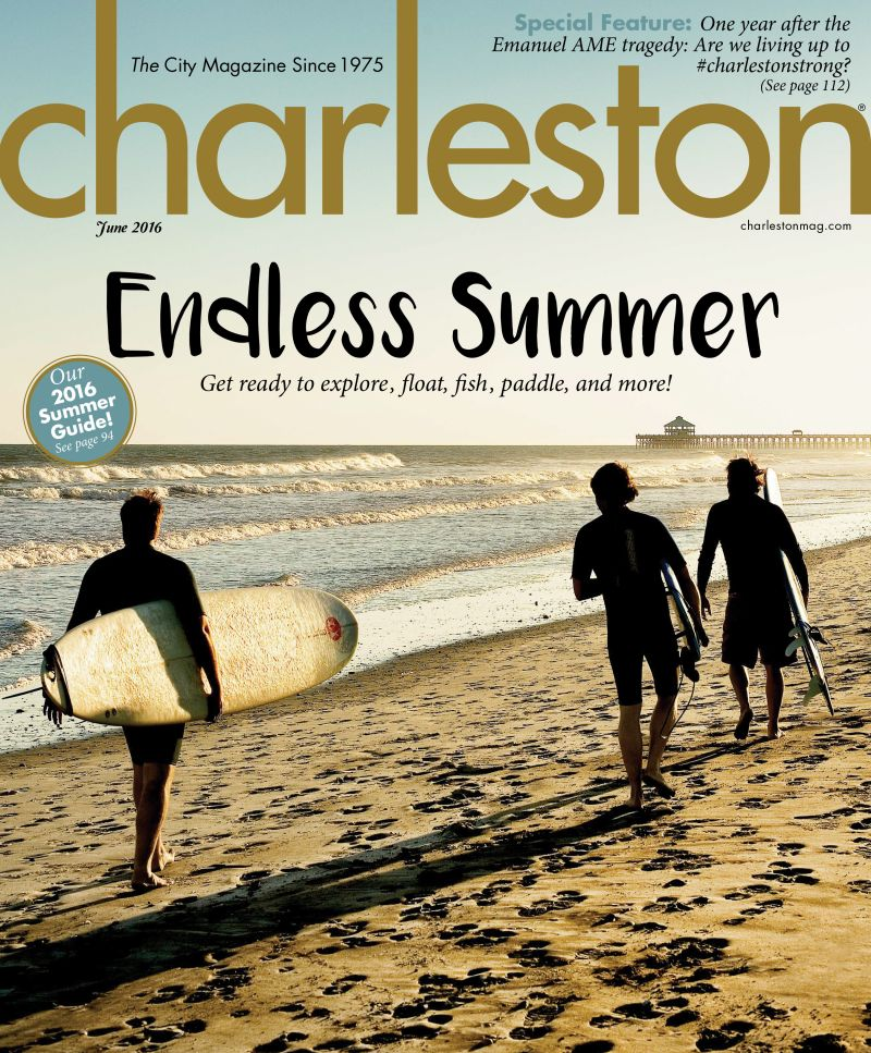 Christopher Shane's June 2016 cover shot