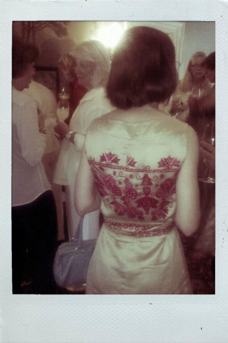 Street Style: Embroidered Back Detail