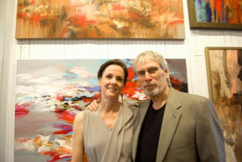 Debbie and Tom Potocki, a featured artist at Michael Mitchell Gallery