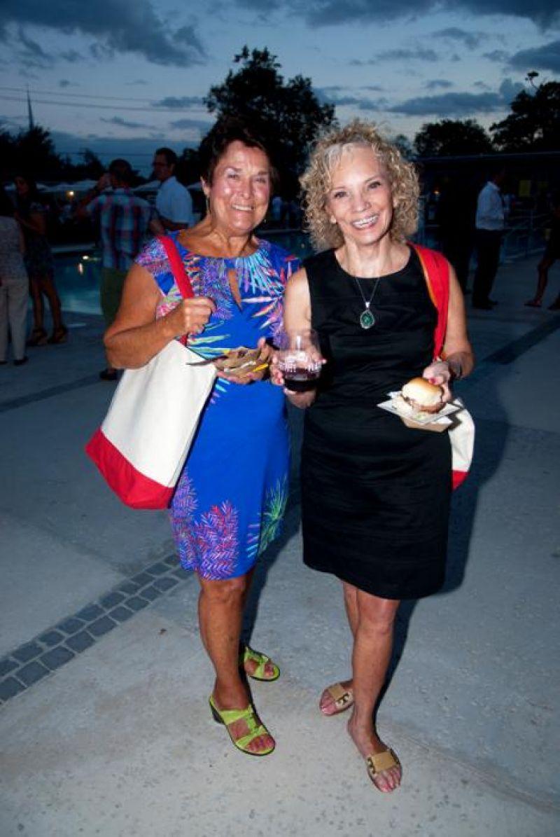 Sylvia Nista and Linnea Morrisey