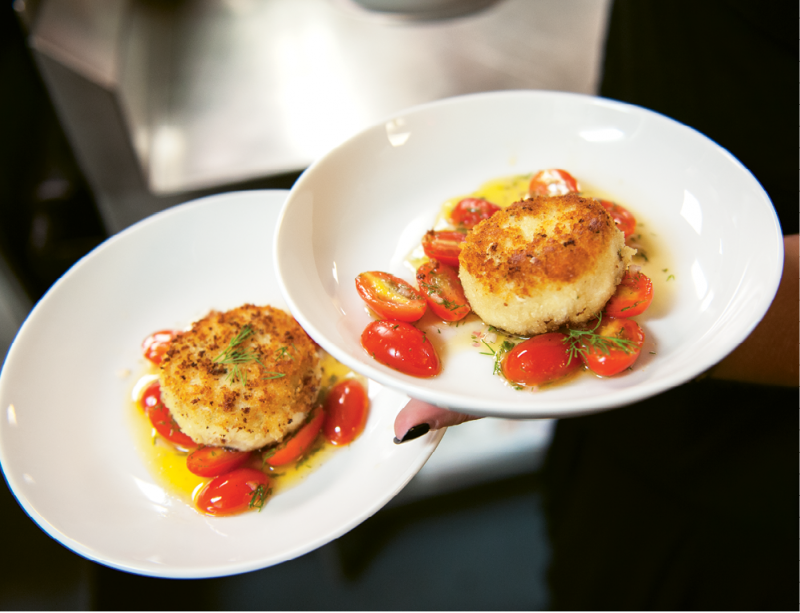Chef Michelle Weaver's lump crab cakes