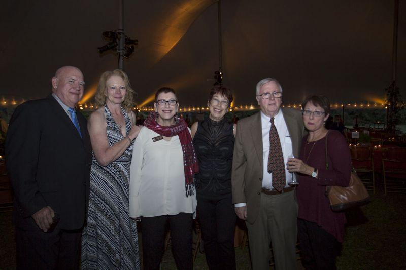 Tom and Barb Hallberg, Susan McKenna, Katherine Sinnott, Jim McKenna, and Bonnie Patterson