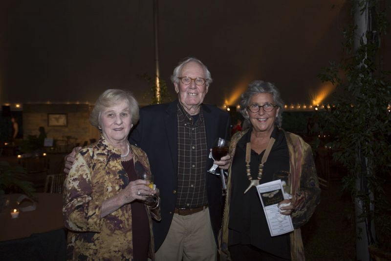 Joyce Hollowell with Gilly and Barbara Dotterer
