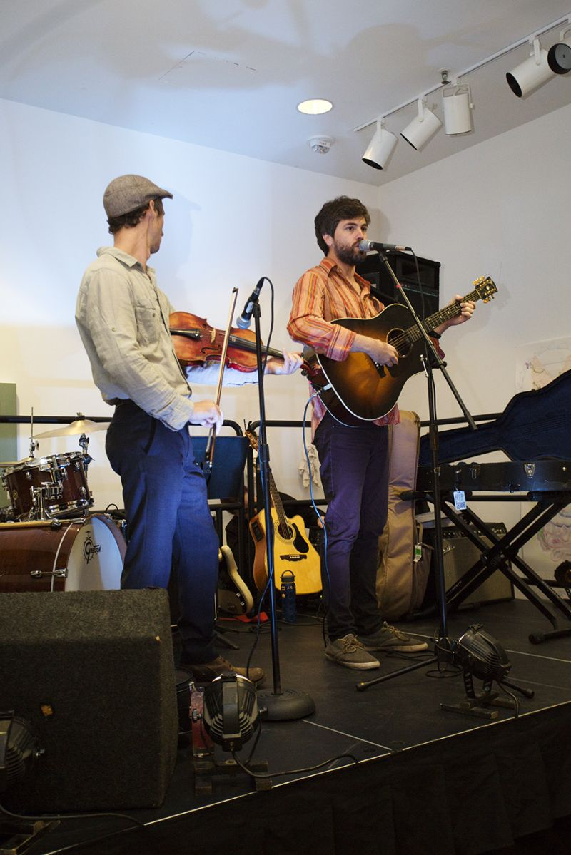 A folksy set by Ian Gleason and Joel T. Hamilton