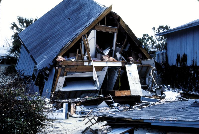Damages on Sullivan's Island. The hurricane caused an  estimated $7 billion in damages, with $2.56 billion in insurance losses in South Carolina alone.