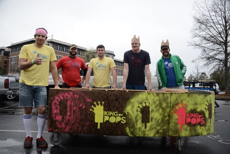 Last year's winners, King of POPS, returned for another win.