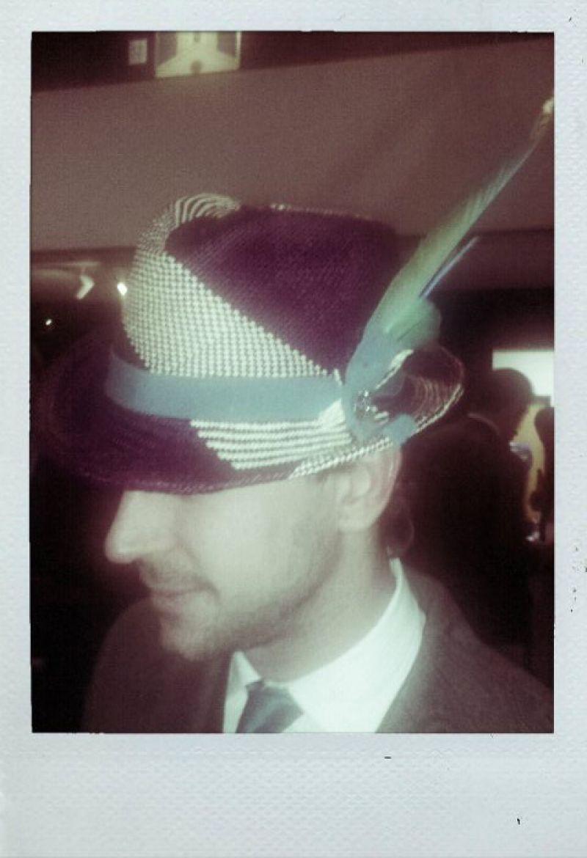 Magar Hat Worn By Jeffery Rhodes
