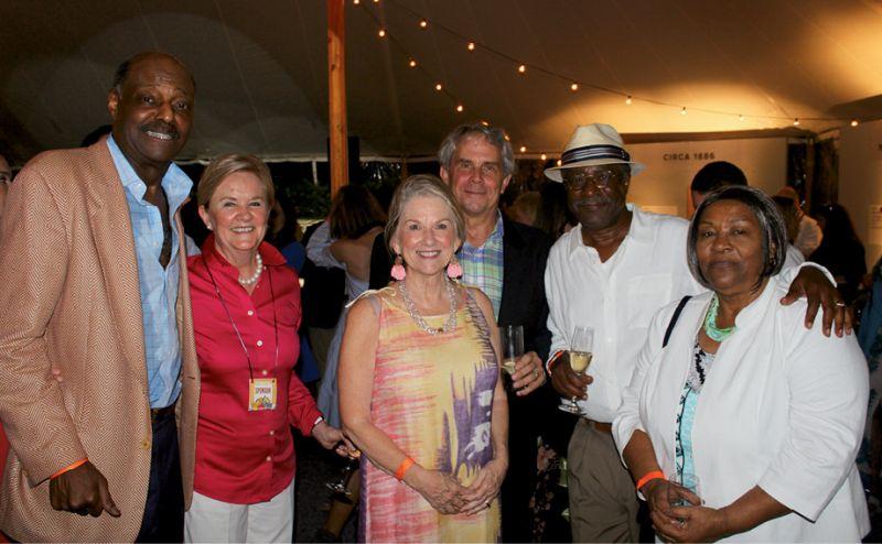 Roy Green, Tayter Beak, JoAnn and Milt Herne,  and Leonard and Linda Hanson