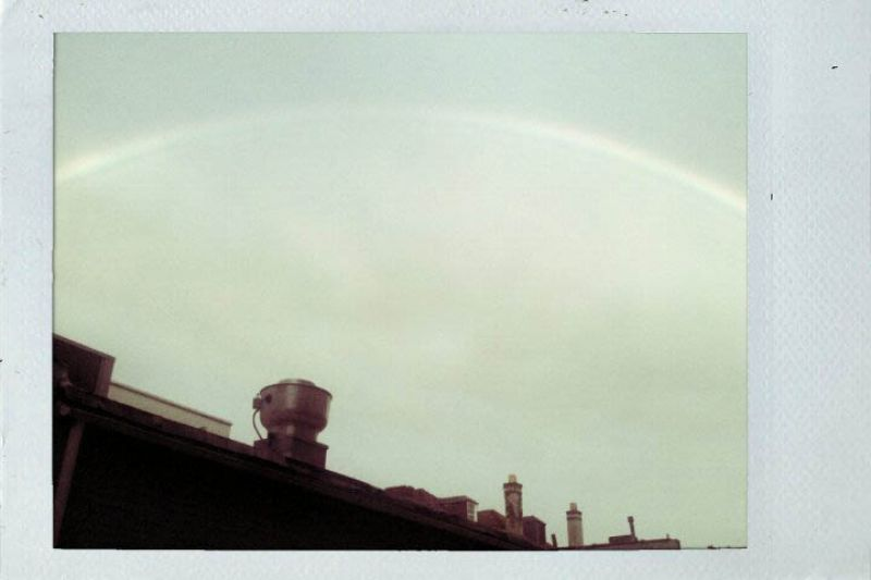 HALF United Show is blessed with a rainbow!