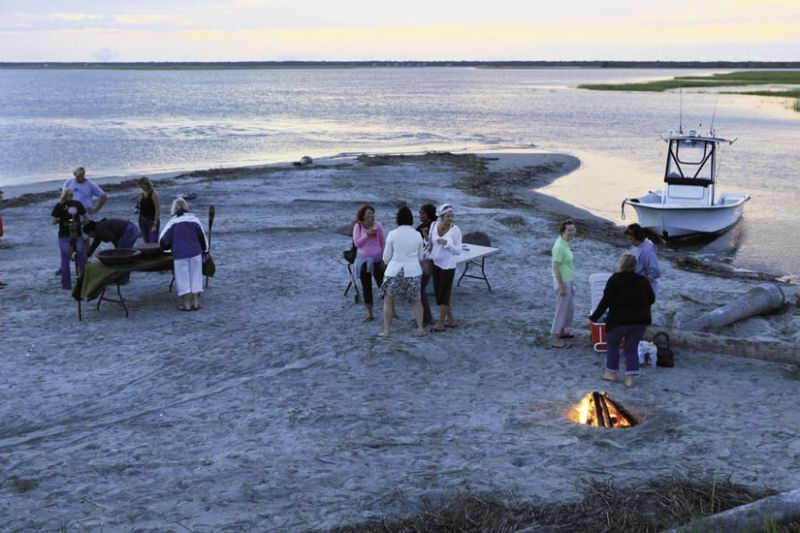 Barrier Island Eco-Tours Sunset Cruise