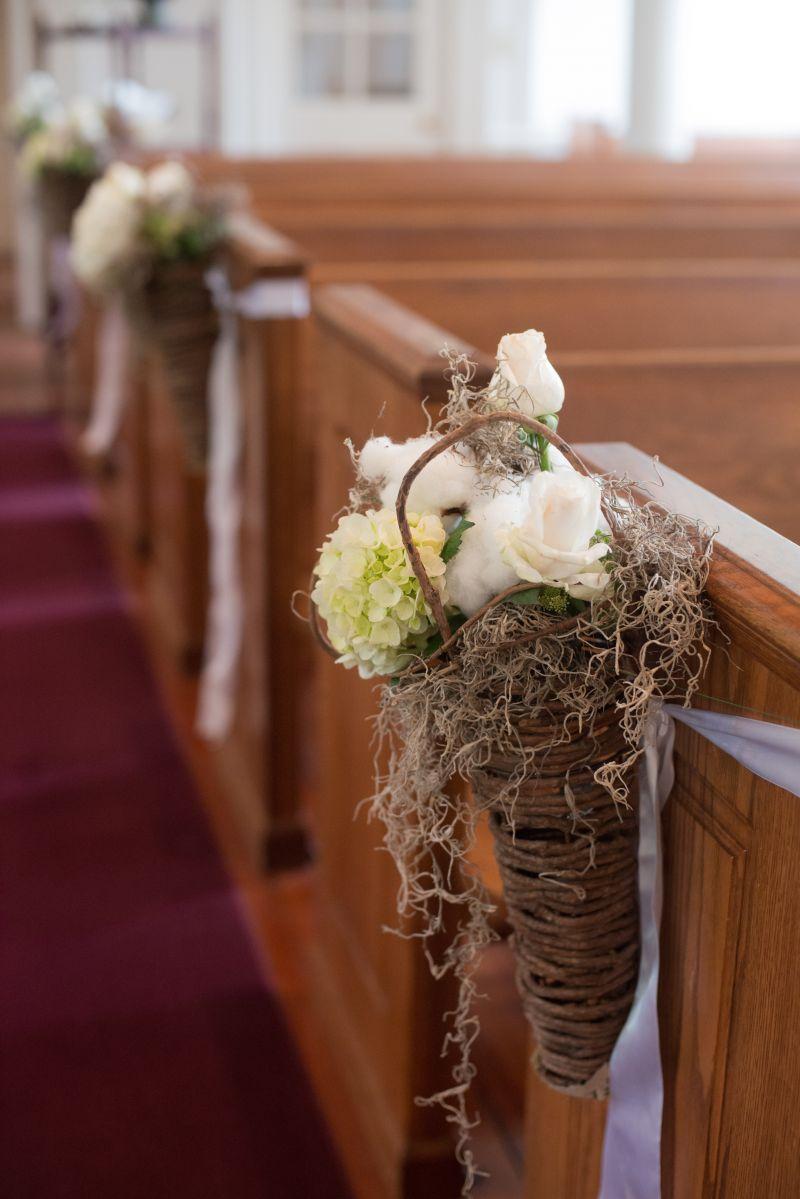 A TASKET: Sweetgrass baskets held ceremony programs