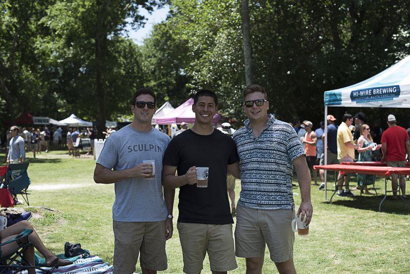 Ty Wojtysiak, Nick Ynostroza, and Chris Elliot