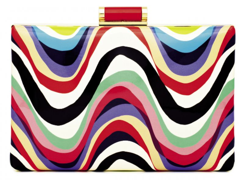 "Kate Spade ""Brighton Wave"" clutch, $298 at Kate Spade"
