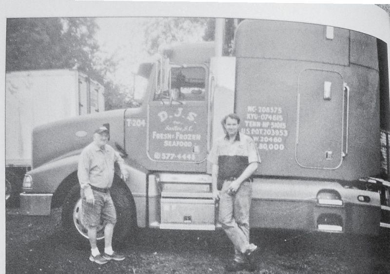 Refrigerated trucks once lined up to haul the catch across the country.