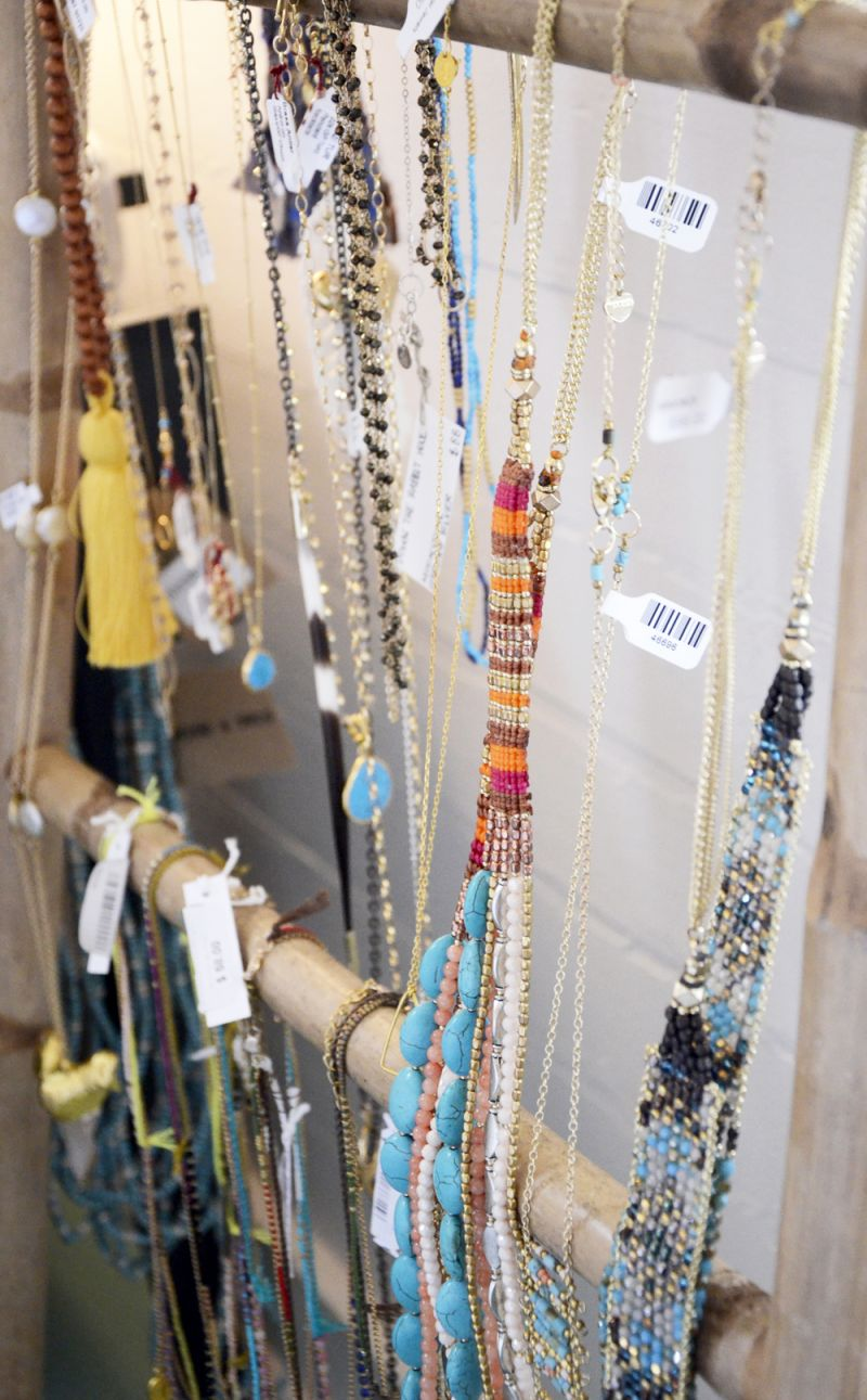 Even more beaded necklaces