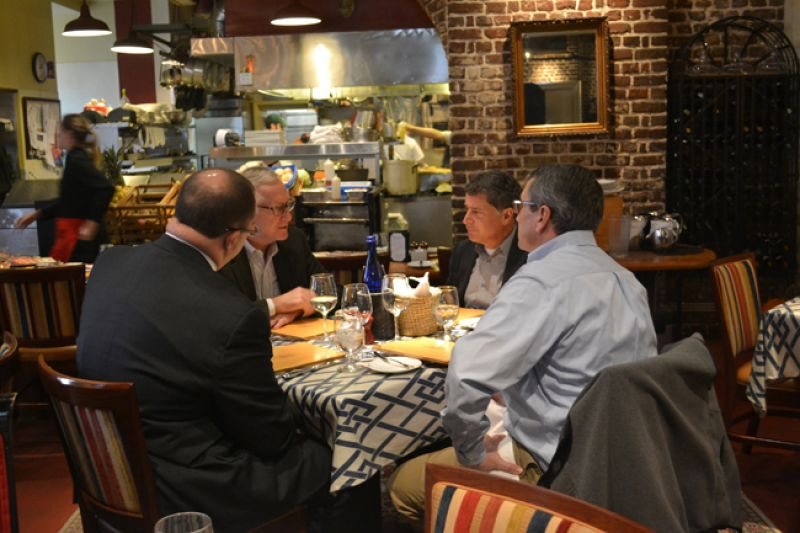 Charleston Magazine Lunch For Doing Business Slightly