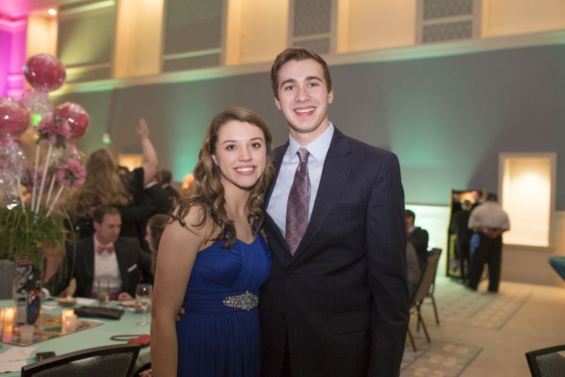 Natalie Smith and Will Hall