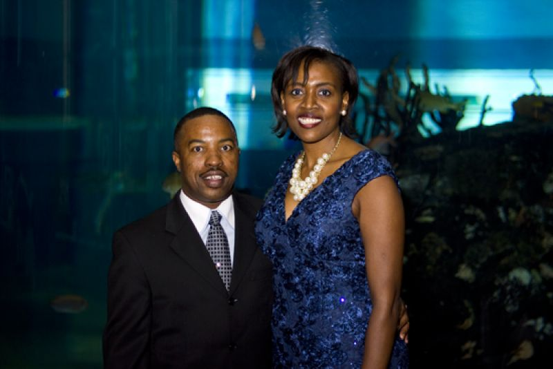 Theodore & Priscilla Roper. Priscilla is a mentor and Going Places Gala honoree.