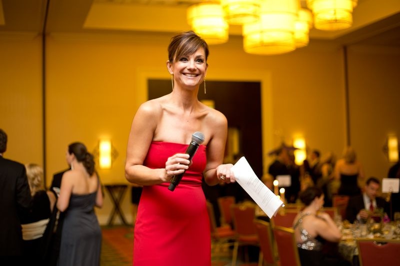ABC News 4's Victoria Hansen was the Master of Ceremonies