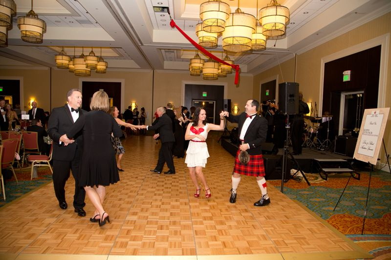 Guests danced the night away