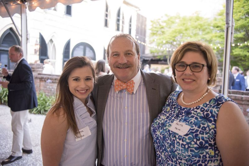 Emma Shuler, Vice President of Positive Strides Dennis Brant, and Anita Shuler
