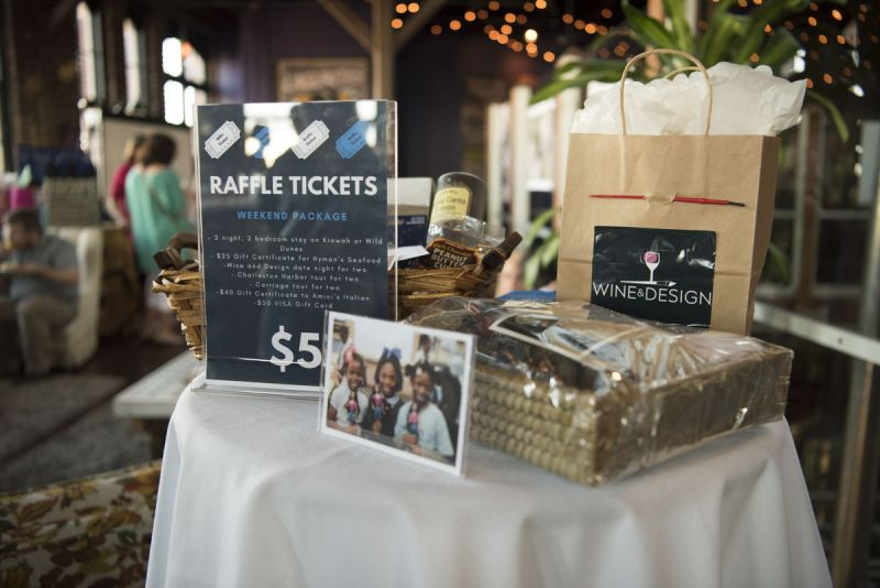 Raffle tickets helped raised money for the mentorship program.