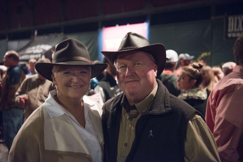 Debbie and Dennis Taylor