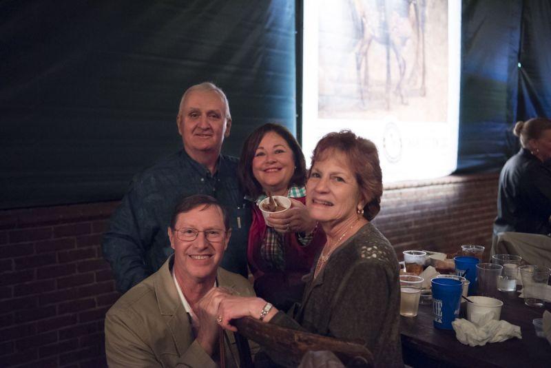 Charles Willis, Fred York, Marti Willis, and Brenda York