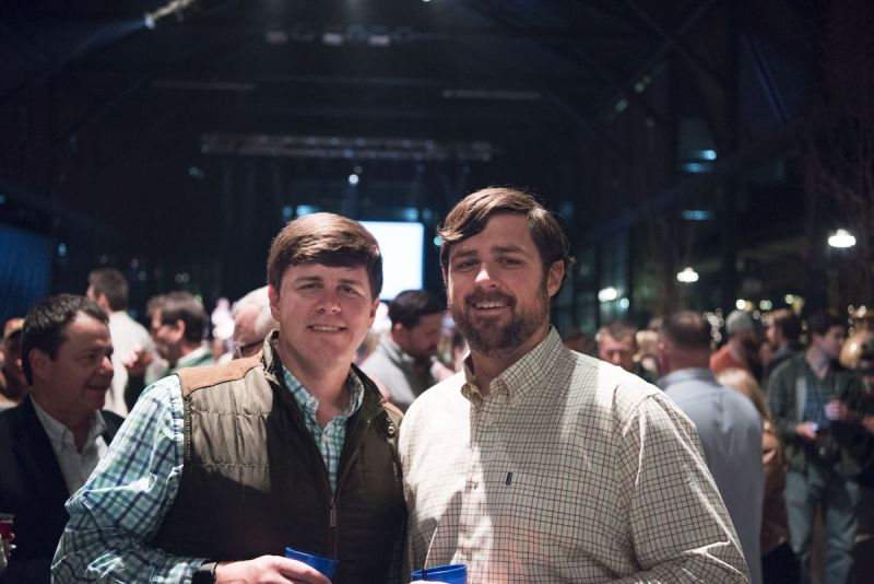 Chris Tamsberg and Justin Coker