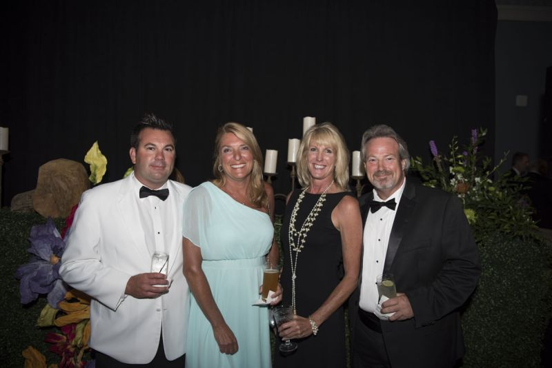 Jason and Amy Moyer, Sue Truesdale, and Mark Reyland