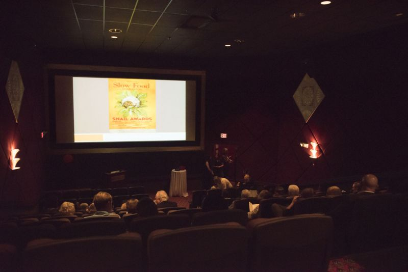 The event opened with a presentation on the Slow Food movement.