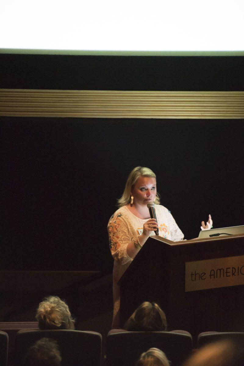 Co-chair of Slow Food Charleston, Rebecca Burke