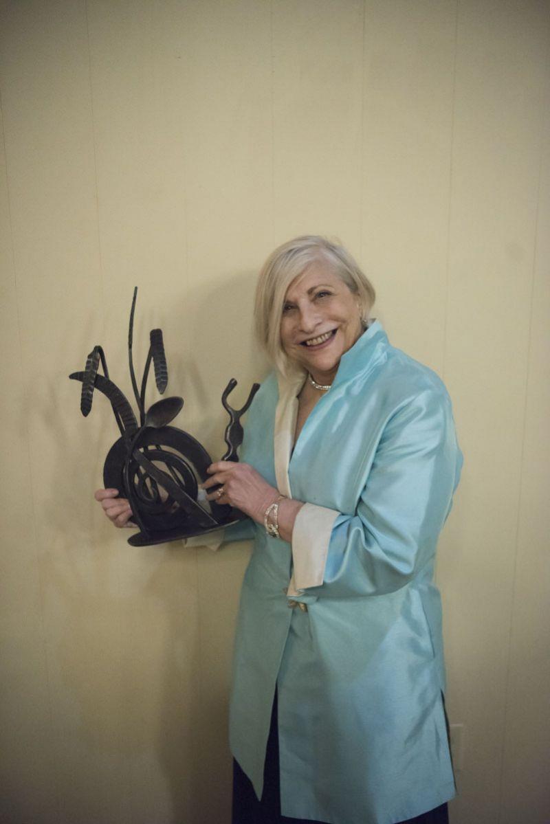 "Nathalie Dupree, recipient of the ""Legend Award"""