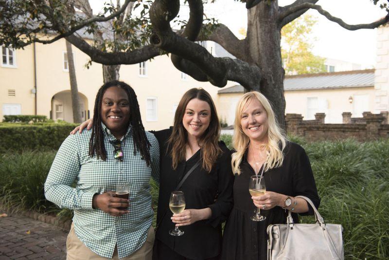 Brianna Bethea, Kate Dewitt, and Sam Wrigglesworth
