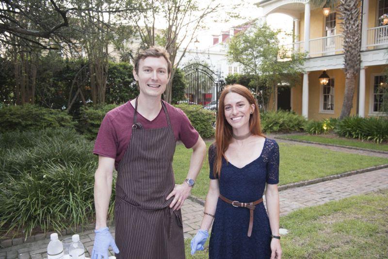 Brandon and Lauren Belk of Wich Cream