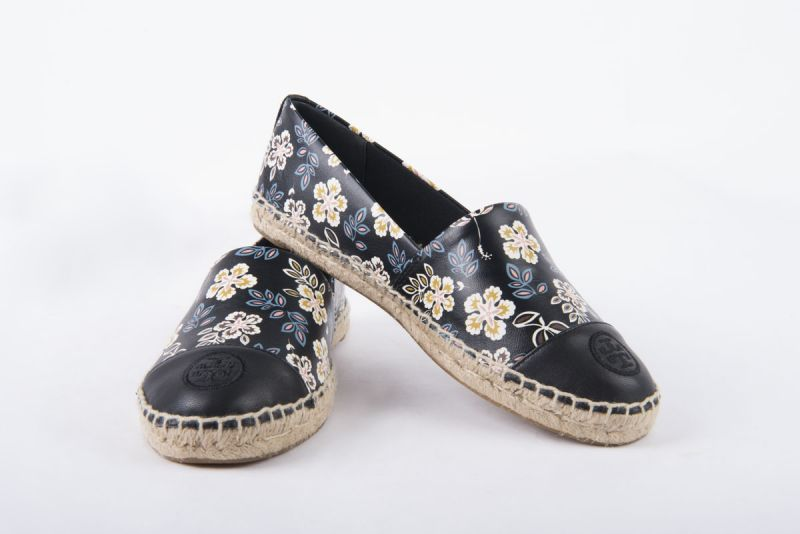 "Tory Burch ""Hopewell"" embroidered floral espadrilles, $150 at Gwynn's of Mount Pleasant"