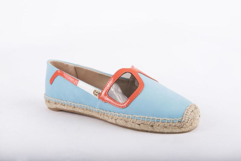 "Tory Burch ""Sunny Espadrille"" in jewel oasis, $195 at Shoes on King"