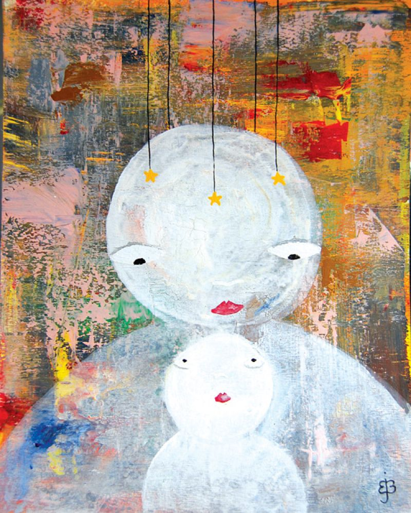 "CHM Aug 2010 Artist Profile: Brian Bustos ""Mother and Child"""