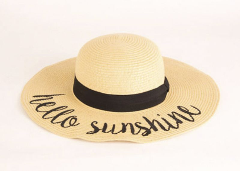 "Joules ""Hello Sunshine"" hat, $58 at V2V"