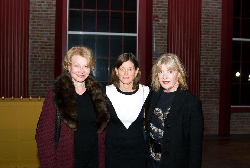 Barbara Hearst, Julia Forster and Kay Dunn