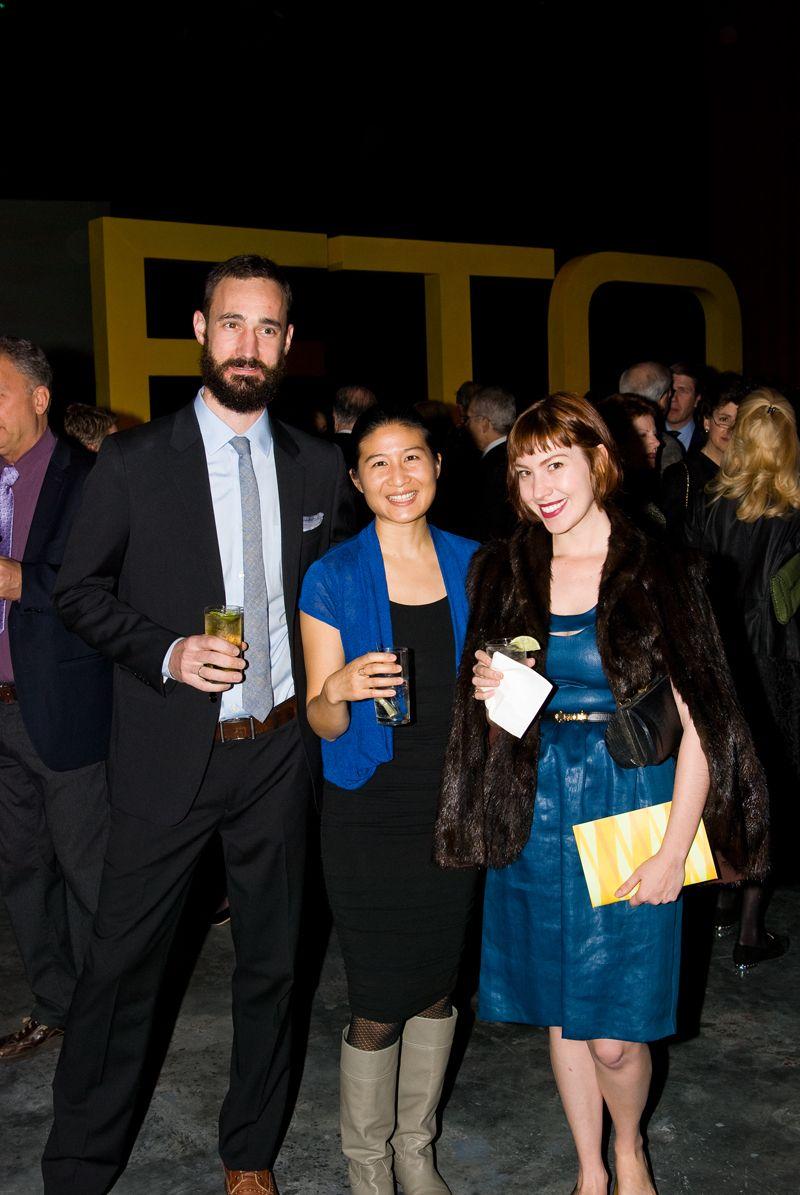 Michael Moran, Angela Yen and Celia Gibson