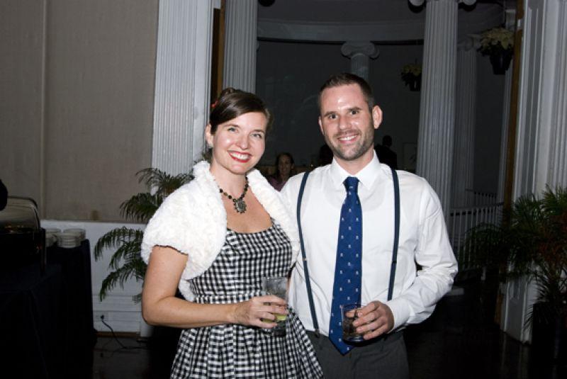 Lauren Williams and Austin Dupre