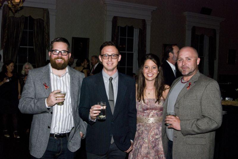 Scott Carpenter, Joe Quinn, Greer Thompson, and Andrew Williams