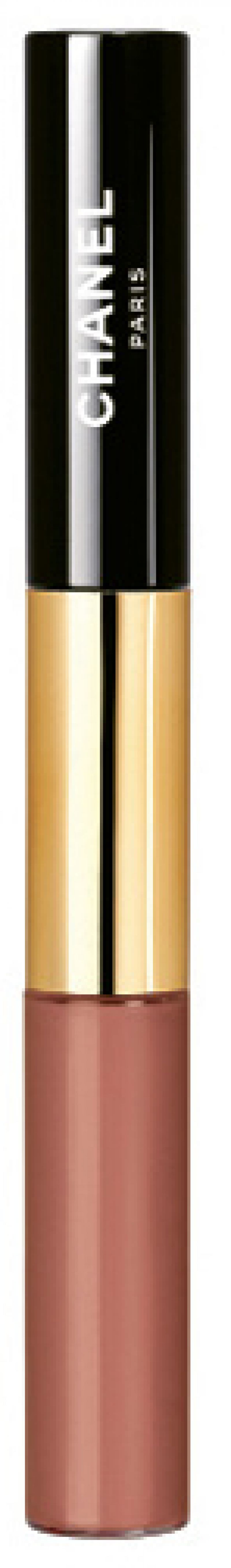 "Chanel's Rouge Double Intensité in ""Tender Beige"""