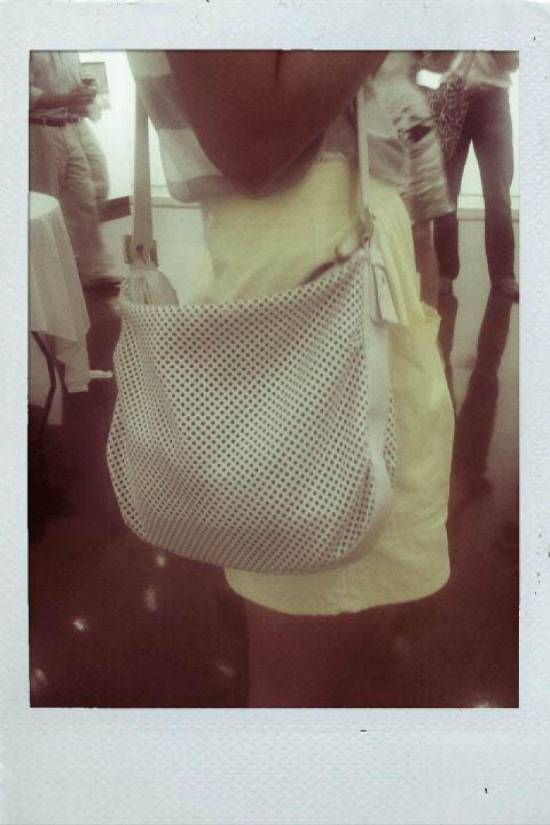 Carrie like her sister Hayne knows a good handbag.