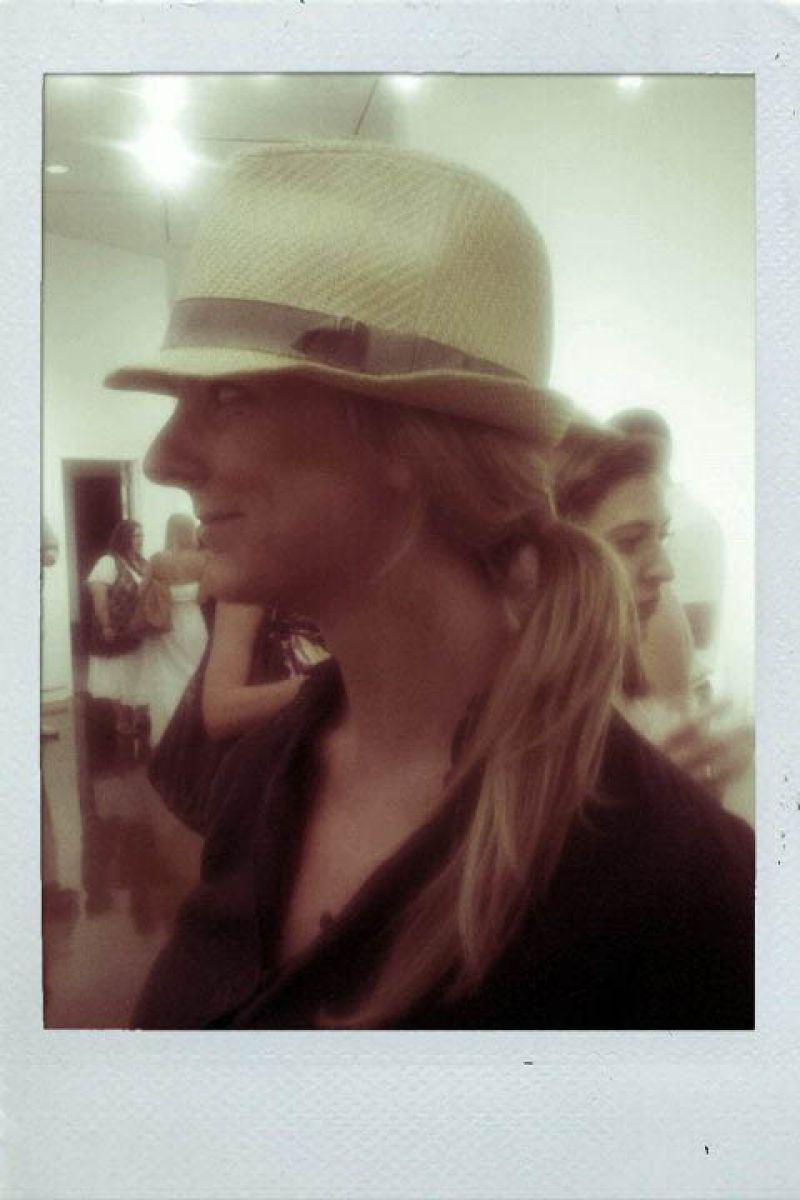 Erin rocks a Fedora. A must have on my summer wardrobe list!