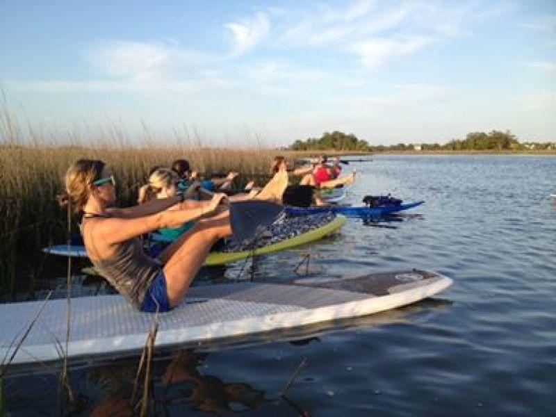 Folly Beach -Charleston SUP Safaris